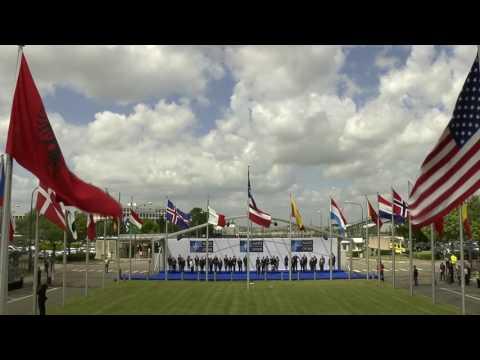 Flag-raising ceremony marks Montenegro's entry into NATO