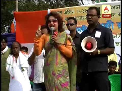 TMC candidate Shatabdi Roy's 'star' campaign