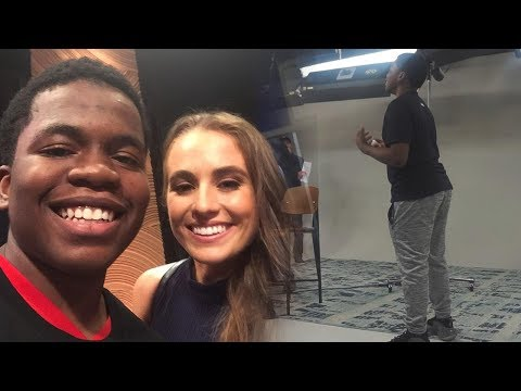 (VLOG #4) I WAS ON A TV SHOW WITH RACHEL DEMITA 😍 AND NBA PLAYERS. ( MEETING A 2K DEV AND MORE)
