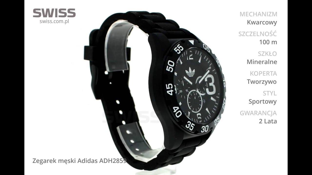 Fantastyczny www.swiss.com.pl - Zegarek męski Adidas ADH2859 - YouTube @GW-01