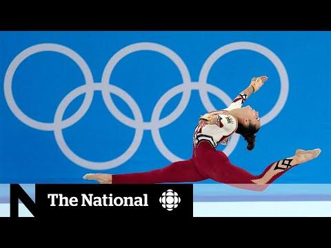Female athletes push
