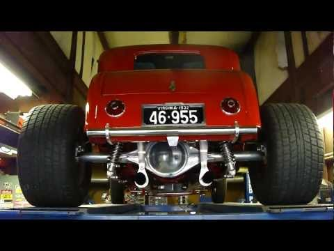 32 Ford 5-window Coupe ~ AWESOME! HOT RAT ROD * MUST SEE! LOVE THE SONG