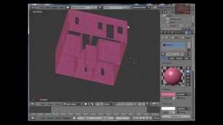 Blender 3d Tutorial - Beginners, Model A House From Mesh Plane (1) By Vscorpianc