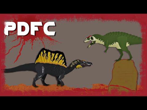 PDFC - Acrocanthosaurus vs Spinosaurus