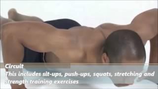 Tacfit Commando Exercises - Basic Training Circuits