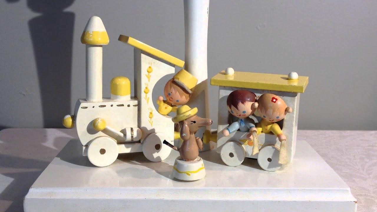 Vintage Nursery Plastics Inc Child S Train Musical Lamp