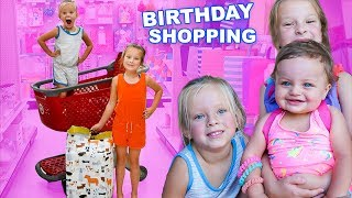 Sisters Birthday Shopping At Target! 🎂 Baby's 1st Birthday