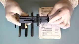 Airgun Regulator - Pt. 2-4 Transfer Port Size Adjustment.