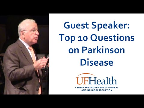 Top 10 Questions on Parkinson's - Guest Speaker Dr. Jankovic - UF Health Parkinson Symposium 2015