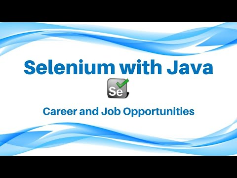 Career and Job Opportunities with Selenium