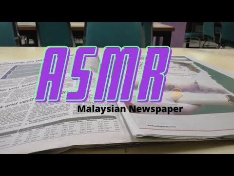 ASMR : Malaysian newspaper