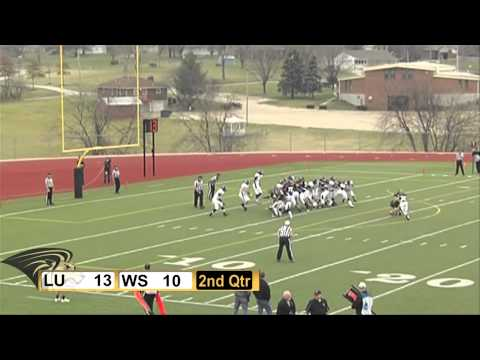 2012 Mineral Water Bowl HIghlights Winona State vs Lindenwood