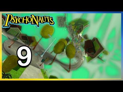WHERE IS THE MILKMAN?! Psychonauts Gameplay Playthrough Part 9 Full Game Walkthrough