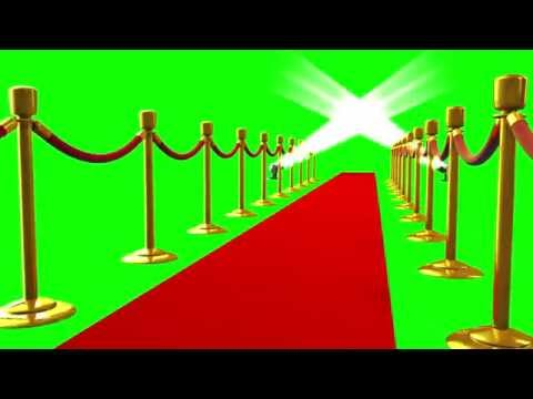 Green Screen Red Carpet Cinema Movie Theater HD - Footage PixelBoom