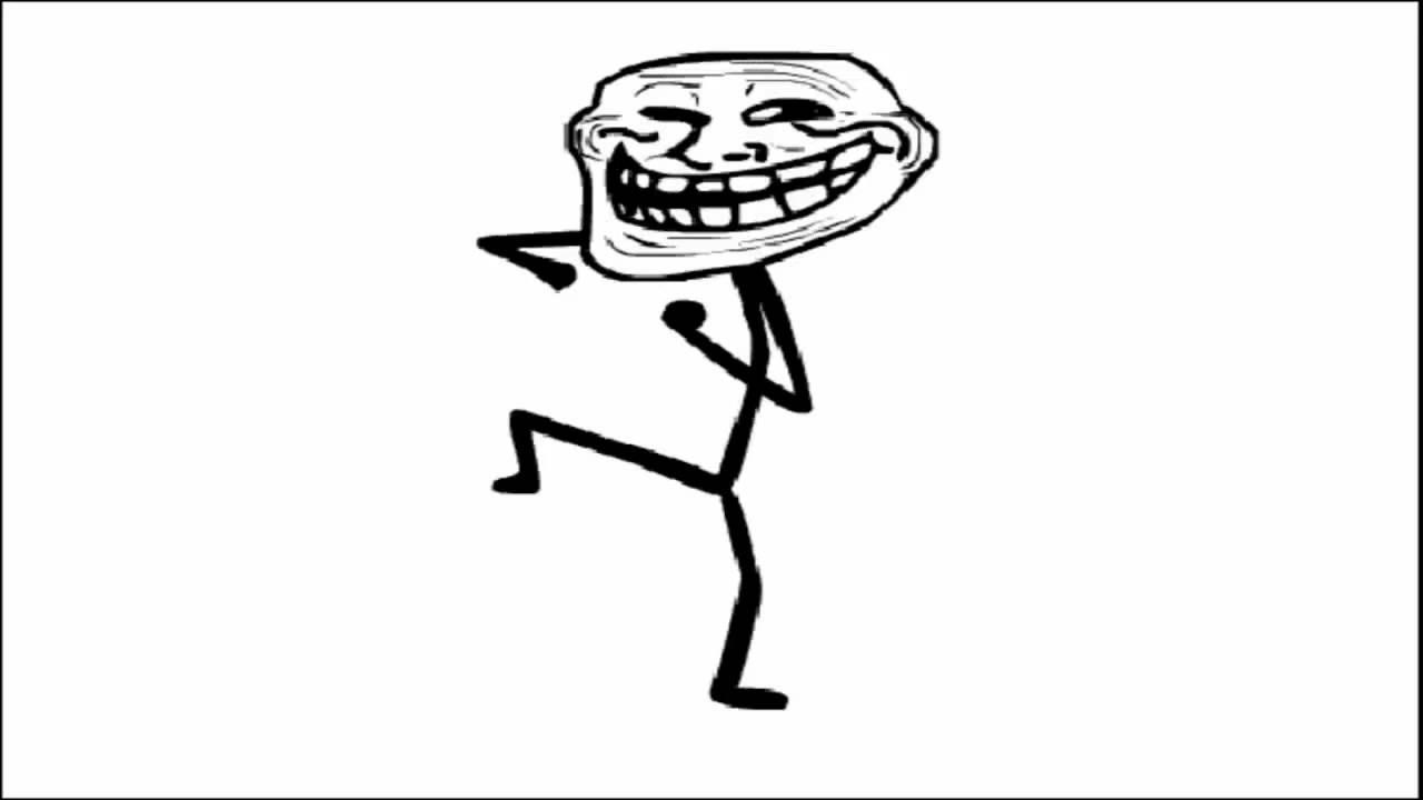 troll meme dancing