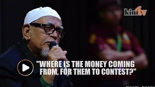 Hadi: Where is Harapan's money coming from?