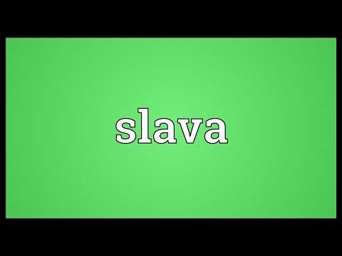 Slava Meaning