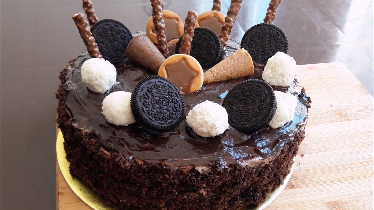 Meqa Şokaladlı Tort hazırlanması/Çikolatalı pasta tarifi