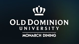 Monarch Dining Student Worker ~ A Day in the Life ~ ODU