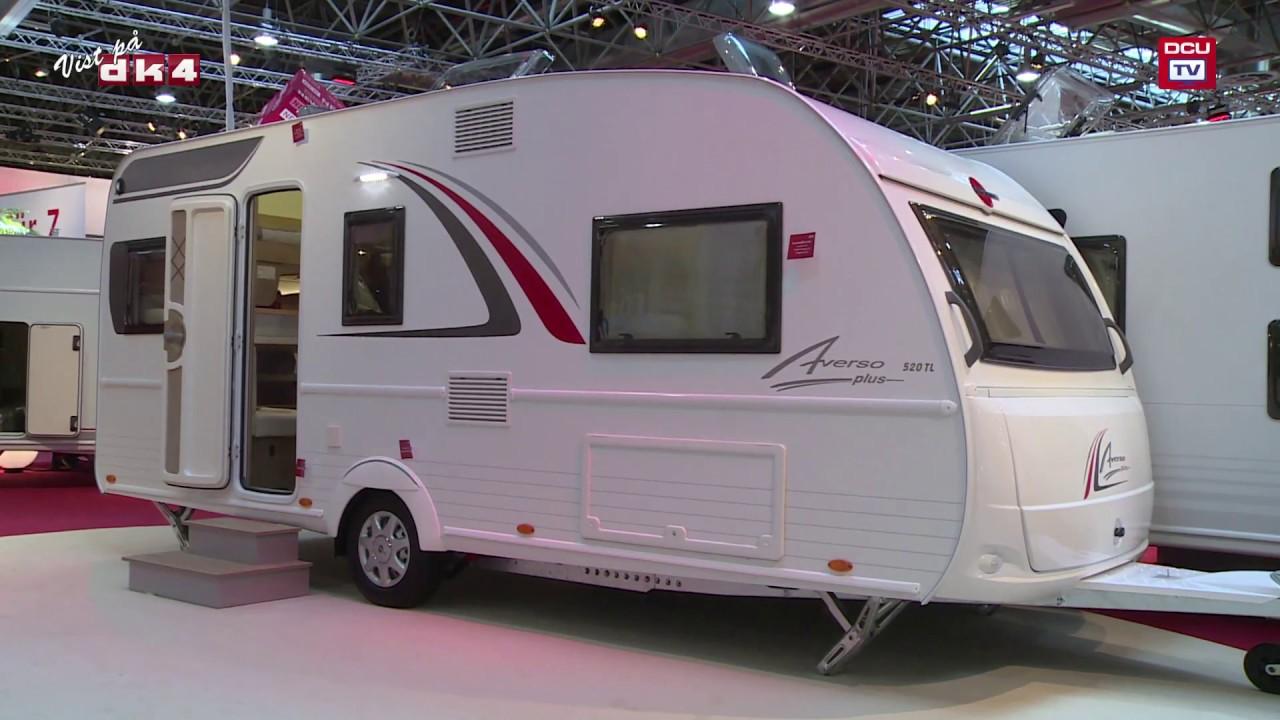 tv campingnyhed b rstner averso plus 520 tl campingvogn 2017 model youtube. Black Bedroom Furniture Sets. Home Design Ideas