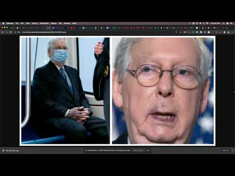 Mitch McConnell Refuse To Answer Questions About His Health