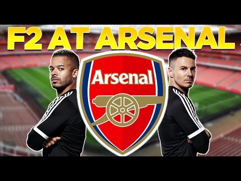 F2 AT ARSENAL!!!
