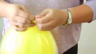 42. Como fazer balões duplos?