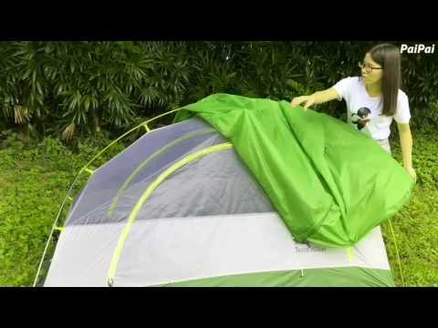 Terra Hiker テント 取り付け方法