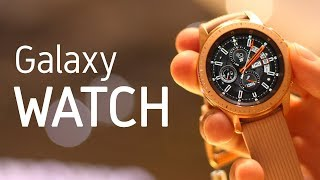 Samsung GALAXY WATCH, ¡lo PROBAMOS!