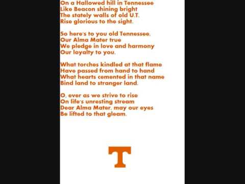 Tennessee Alma Mater