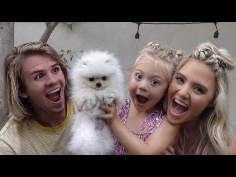 WE SURPRISED OUR DAUGHTER WITH HER FIRST PUPPY!!! (CUTEST RE