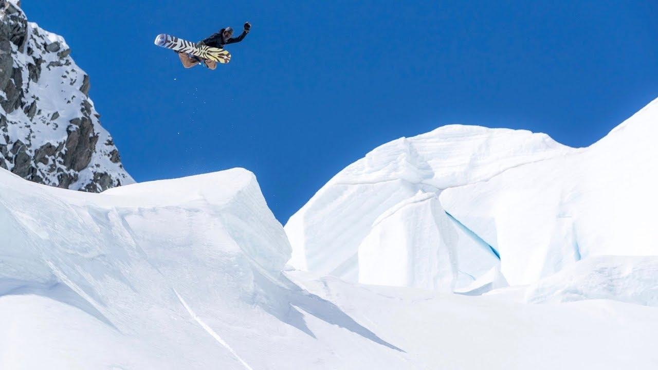 Snowboarding on New Zealand's Largest Glacier   Diaries Downunder Winter