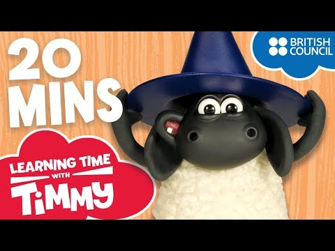 Full Episodes Compilation 9-12 | Learning Time With Timmy | Cartoons For Kids