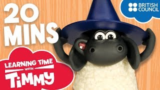 Full Episodes Compilation 9 12 Learning Time with Timmy Cartoons for Kids
