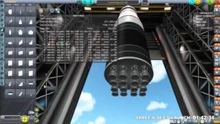 Kerbal Space Program - Realism Overhaul - 550 tons to LEO