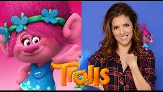 Trolls (2016) | Behind the voices | Actores detrás de las voces