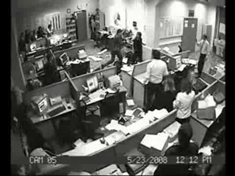 Office Rampage in Russia (Actual Event)