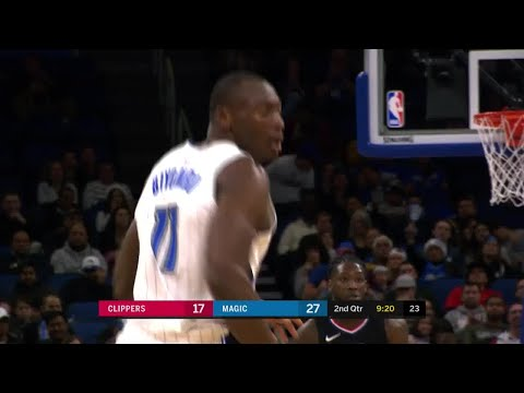 2nd Quarter, One Box Video: Orlando Magic vs. Los Angeles Clippers