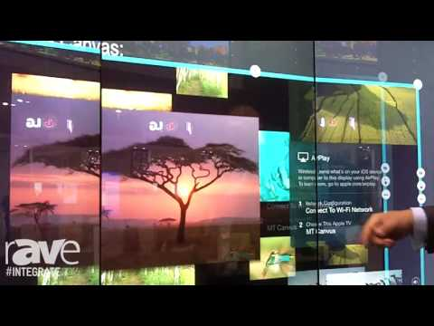 Integrate 2016: MultiTaction Demos the MT Canvus Collaboration Software