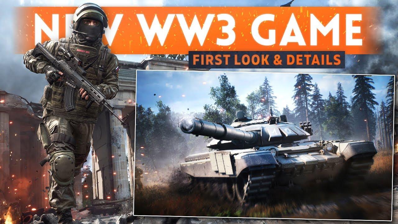 WORLD WAR 3 FIRST LOOK! - New Battlefield-Style Modern Day Tactical Shooter (Gameplay Trailer)