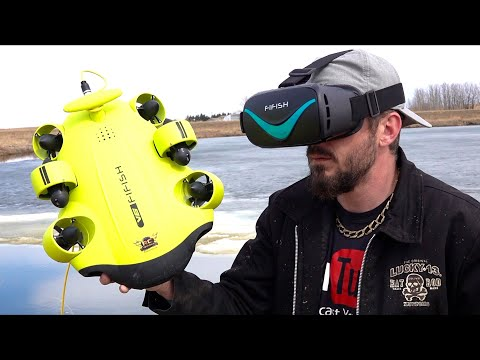 TREASURE HUNT UNDER the ICE  - QYSEA ROV CAMERA SUBMARINE FiFiSH v6 - MISSION: DRONE | RC ADVENTURES