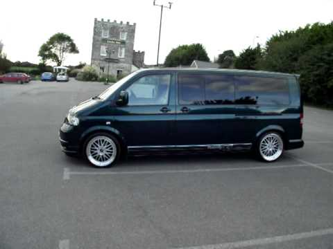vw transporter t5 shuttle lwb 2 5tdi 130 youtube. Black Bedroom Furniture Sets. Home Design Ideas