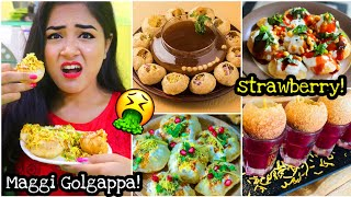 I only ate GOLGAPPA for 24 HOURS 😱 *G0NE WR0NG* Nil and Situ Vlogs
