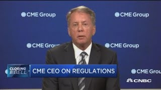 CME Group CEO on lessons learned from 2008 financial crisis