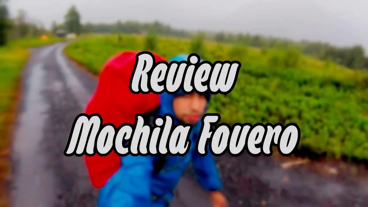 d52279150 Review mochila Fovero 70L The North Face - YouTube