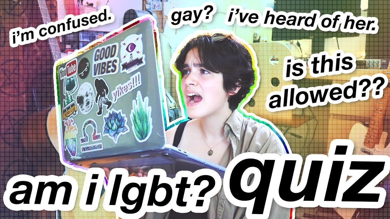testing my sexuality via internet quiz