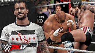 WWE 2K17 CM Punk Entrance Signature Finisher XB1 CAW
