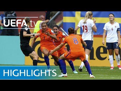 Women's EURO highlights: Netherlands 1-0 Norway