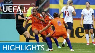 Women's EURO highlights: Netherlands 1-0 Norway