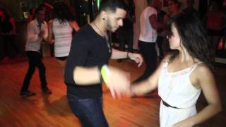 Ernesto Bulnes & Karel Flores Social Dancing at Salsa Union